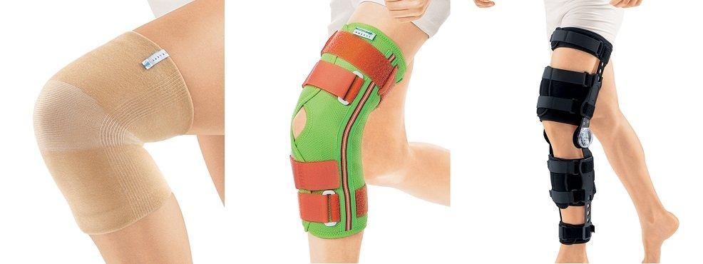 Виды ортезов на коленный сустав